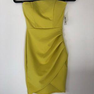 BNWT Charlotte Russe Lime Mini Dress